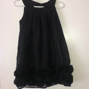 EUC Old Navy Girls Party Dress. Black size 3T